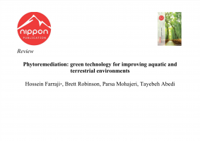 Phytoremediation: green technology for improving aquatic and terrestrial environments